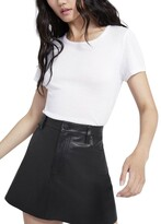 Thumbnail for your product : Alice + Olivia Cindy Classic Cropped Tee
