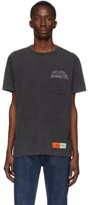Heron Preston Black Sami Miro Vintage Edition Pocket T-Shirt
