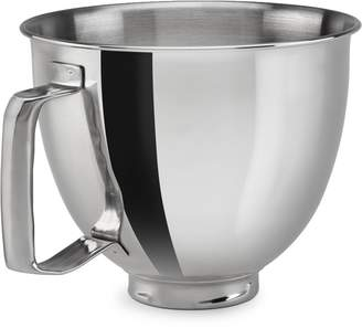 KitchenAid Artisan Mini Stand Mixer Attachment - Polished Stainless Steel Bowl Accessory, 3.5 Quart