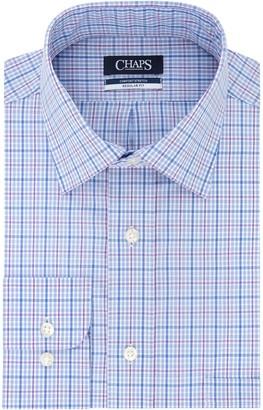 Chaps Men's Regular-Fit Comfort Stretch Spread-Collar Dress Shirt