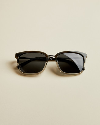 Ted Baker MENORC Square contrast frame sunglasses