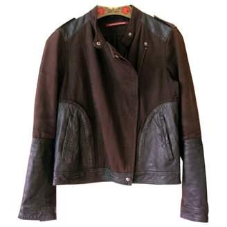 Comptoir des Cotonniers Black Cotton Jackets