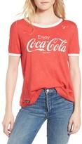 Wildfox Couture Women's Coca Cola Ringer Tee