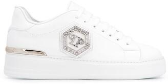 Philipp Plein Logo Embellished Sneakers
