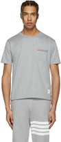 Thom Browne Grey Pocket T-shirt
