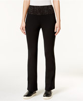 Style&Co. Style & Co. Bootcut Yoga Pants, Only at Macy's