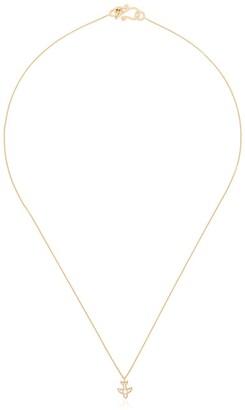 Sophie Bille Brahe 18K yellow gold Petite Matisse diamond necklace