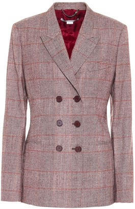 Stella McCartney Double-breasted wool-blend blazer