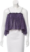 Apiece Apart Silk Crop Top w/ Tags