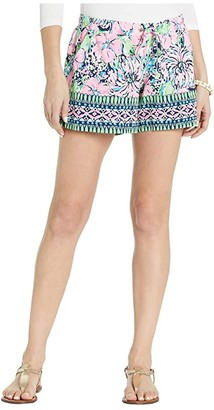 Lilly Pulitzer Katia Shorts (High Tide Navy Tall Order Engineered) Women's Shorts