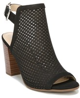 Sam & Libby Women's Etta Perforated Heeled Pump Sandals