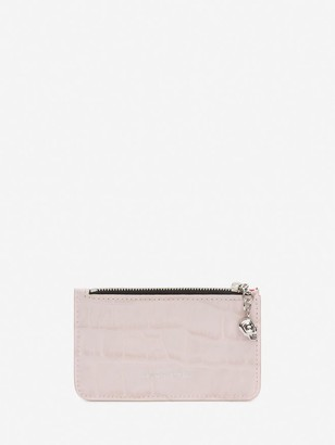 Alexander McQueen Zipped Card Holder