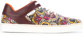 Etro printed lowtop sneakers - men - Leather/Polyamide/rubber - 40