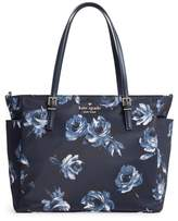 Kate Spade Watson Lane Night Rose Betheny Nylon Diaper Bag - Blue