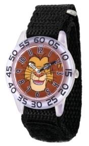 EWatchFactory Disney Lion King Simba Boys' Clear Plastic Watch 32mm