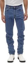 Helmut Lang Men's Accelerated Masc High-Rise Straight-Leg Jeans