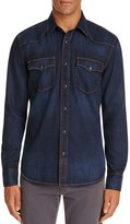 Jean Shop Garth Denim Regular Fit Snap Front Shirt