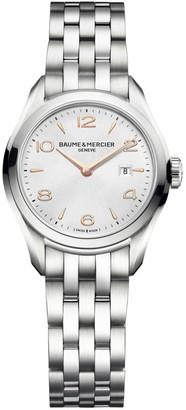 Baume & Mercier Clifton Stainless Steel Bracelet Watch