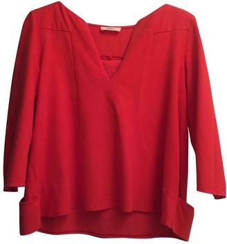 BA&SH Bash Red Cotton Top for Women