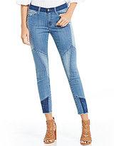 Buffalo David Bitton Faith Patchwork Skinny Ankle Jeans