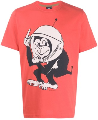 Paul Smith Space Monkey relaxed-fit T-shirt