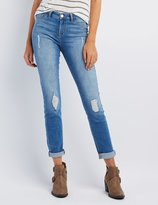 Charlotte Russe Refuge Skin Tight Legging Jeans