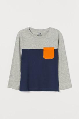 H&M Color-block Shirt