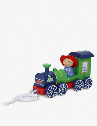 Orange Tree Toys Paddington Bear pull-along wooden train