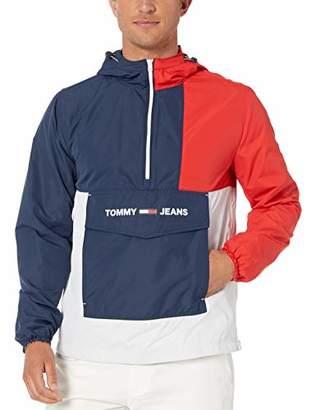 Tommy Hilfiger Tommy Jeans Men's Windbreaker with Colorblock