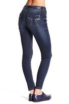 Seven7 Sequin Pocket Skinny Jean