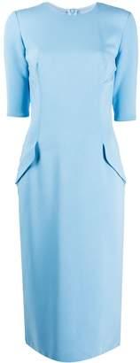 Ermanno Scervino straight-fit dress