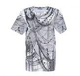 Alexander McQueen Allover Print T-shirt