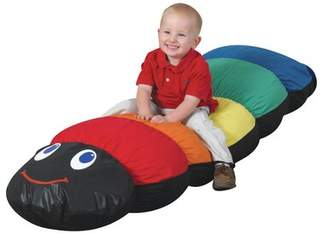 "Factory Large Bean Bag Chair & Lounger Children's Size: 11"" H x 69"" W x 17"" D"