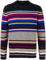 Roberto Collina striped crew neck sweater