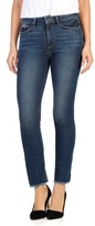 Paige Women's Jacqueline High Waist Crop Straight Leg Jeans