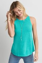 American Eagle Outfitters Soft & Sexy High Neck Tank