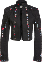Temperley London Opal Tailoring Cropped Jacket