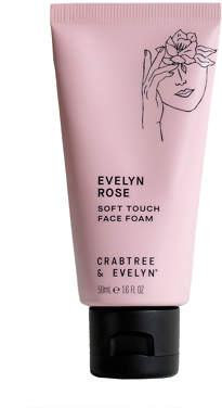 Crabtree & Evelyn Evelyn Rose Soft Touch Face Foam 50ml
