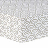 TREND LAB, LLC Trend Artdeco Fitted Crib Sheet