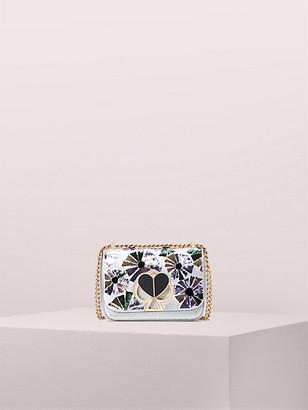 Kate Spade Nicola Floral Twistlock Small Convertible Chain Shoulder Bag
