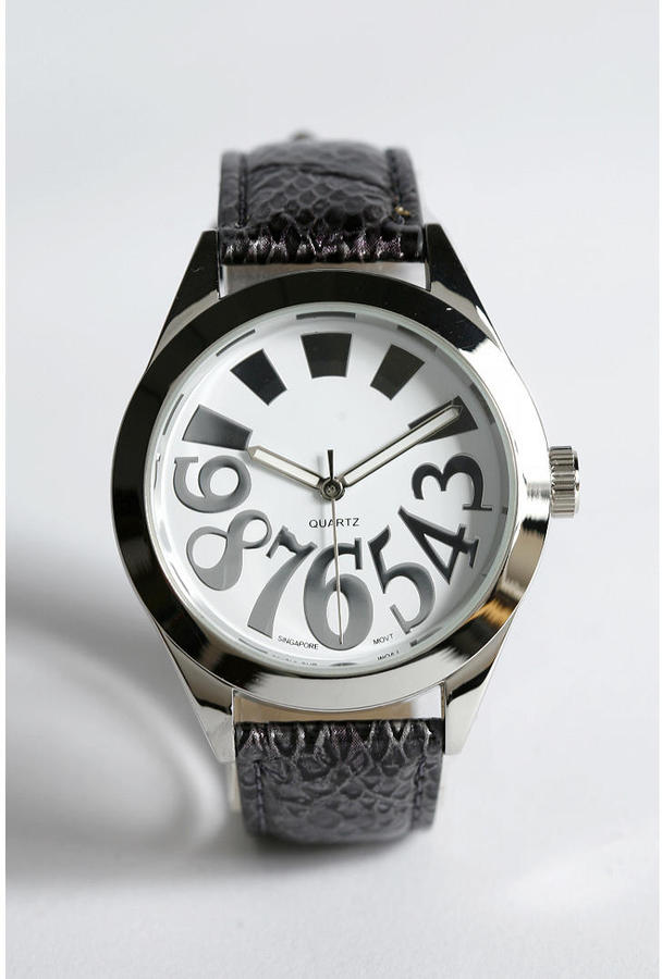 Urban Outfitters Snake Skin Watch