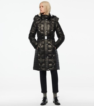 Marc New York   Final Sale Plymouth Belted Quilt Down Coat