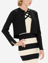 The Limited Eva Longoria Power Knit High-Low Cardigan