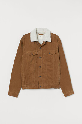 H&M Lined Corduroy Jacket