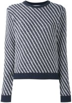 Julien David striped jumper - women - Wool - S
