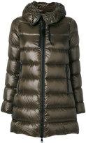 Moncler Suyen long padded jacket - women - Polyamide/Goose Down - 0