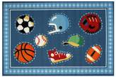 Fun Rugs Olive Kids Go Team Rug - 3'3'' x 4'10''