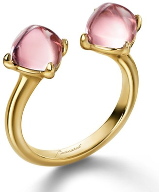 Baccarat Mini Medicis Toi & Moi Ring Size 53