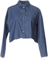 Jil Sander Navy Denim shirts