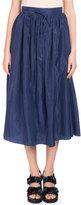 Kenzo La Collection Memento N°;1 Tie-Waist Midi Skirt